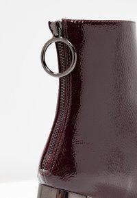 Even&Odd - Classic ankle boots - bordeaux - 2