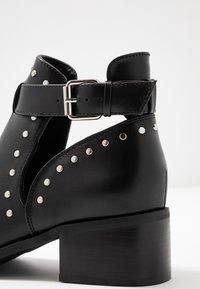 Even&Odd - Kotníková obuv - black - 2