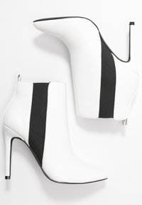 Even&Odd - High heeled ankle boots - white - 3