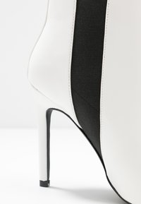 Even&Odd - High heeled ankle boots - white - 2