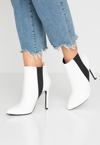 Even&Odd - High heeled ankle boots - white - 0