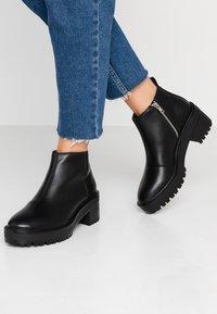 Even&Odd - Kotníková obuv - black - 0