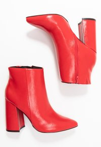 Even&Odd - High Heel Stiefelette - red - 3