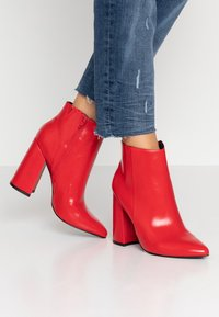 Even&Odd - High Heel Stiefelette - red - 0