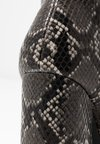 Even&Odd - High Heel Stiefelette - black/white