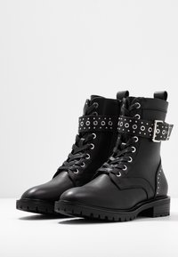 Even&Odd - Stivaletti texani / biker - black - 4