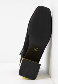 Even&Odd - Korte laarzen - black/yellow - 6