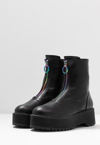 Even&Odd - Bottines à plateau - black - 4