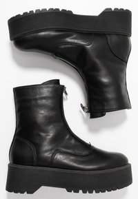 Even&Odd - Bottines à plateau - black - 3