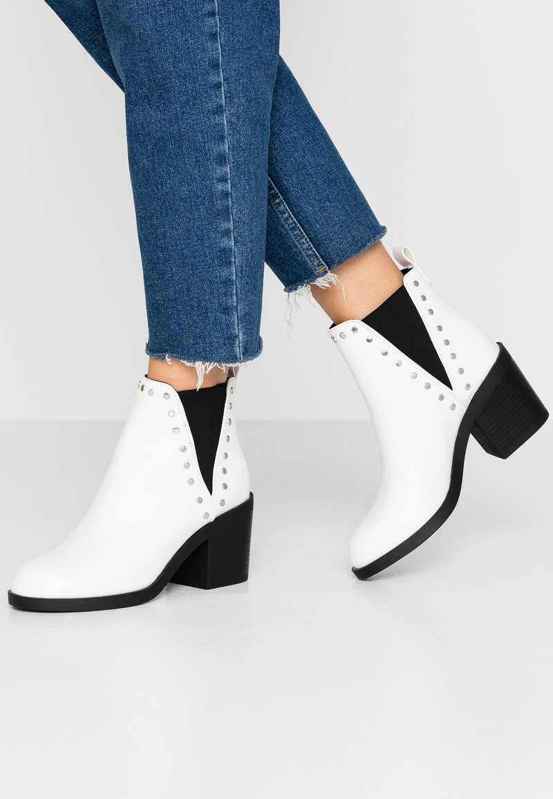 Even&Odd - Ankle boots - white