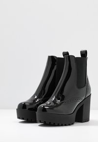Even&Odd - Bottines à talons hauts - black - 4