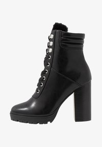 Even&Odd - Kotníková obuv na vysokém podpatku - black - 1