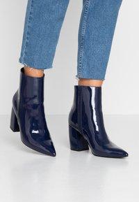 Even&Odd - Classic ankle boots - dark blue - 0