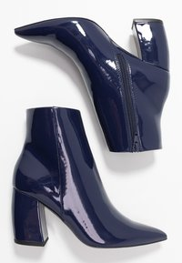 Even&Odd - Classic ankle boots - dark blue - 3