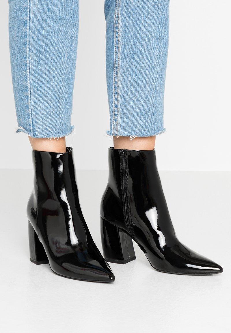 Even&Odd - Kotníkové boty - black