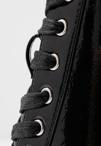 Even&Odd - Ankelboots med høye hæler - black - 2