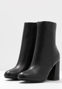 Even&Odd - Ankelboots med høye hæler - black - 4