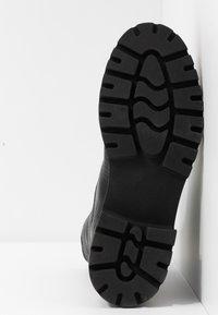 Even&Odd - Kotníkové boty na platformě - black - 6