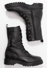 Even&Odd - Lace-up ankle boots - black - 3
