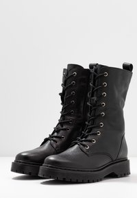Even&Odd - Lace-up ankle boots - black - 4