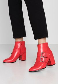 Even&Odd - Ankle boots - red - 0