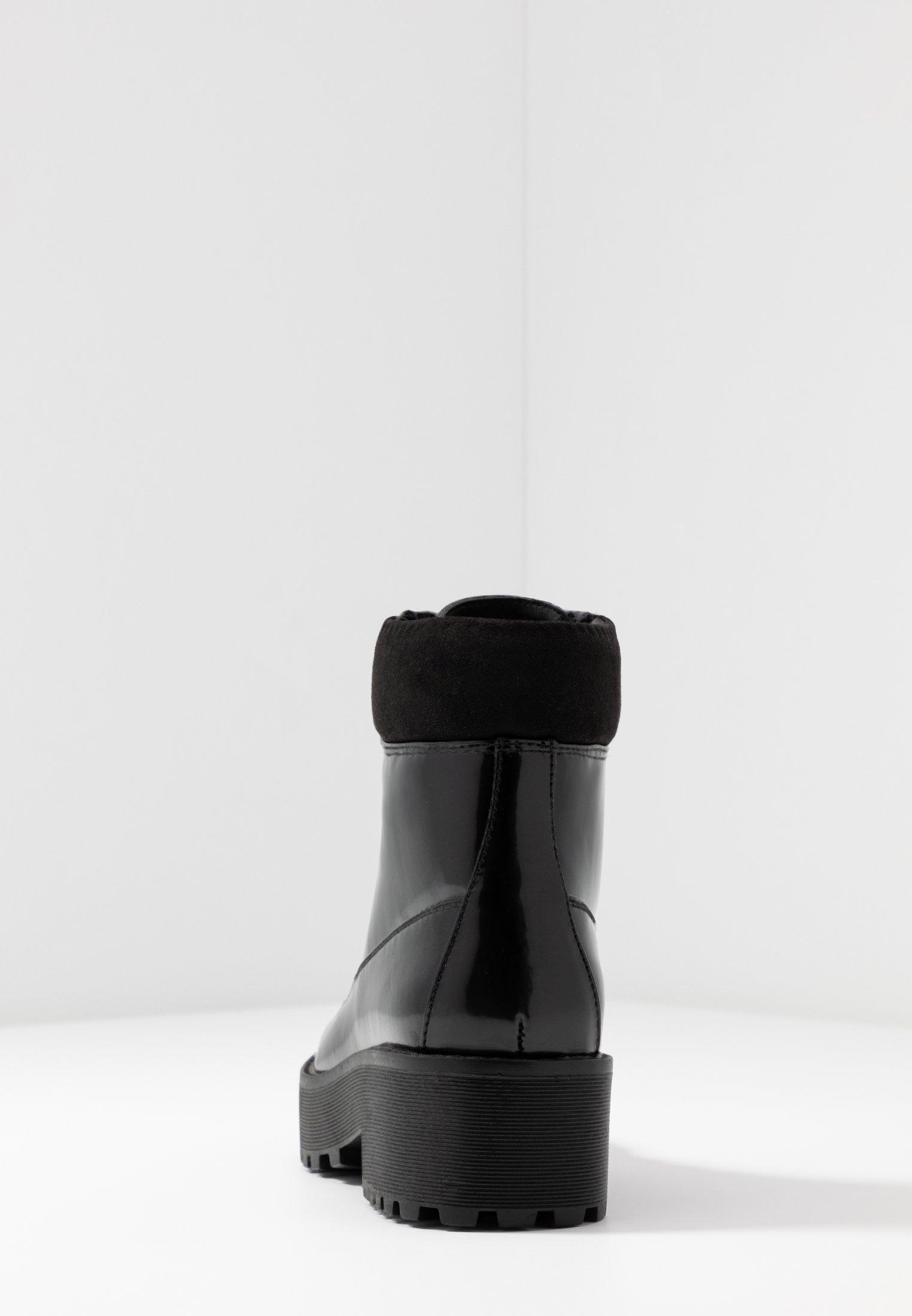 Even&Odd Plateaustøvletter - black