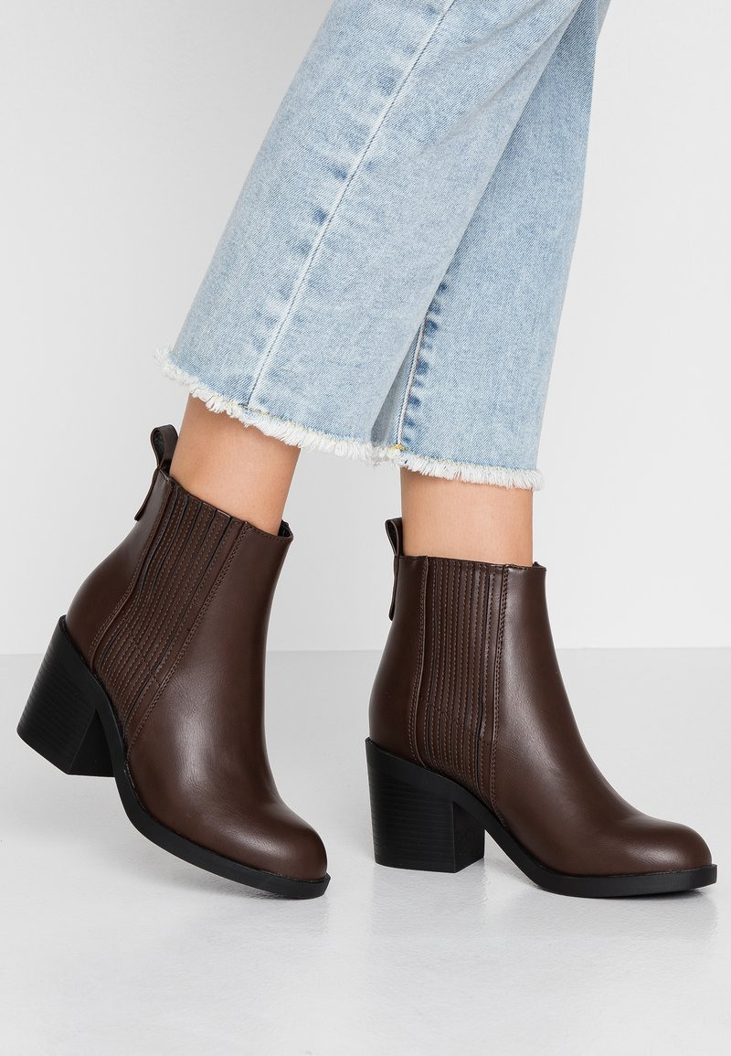 Even&Odd - Ankle boots - brown