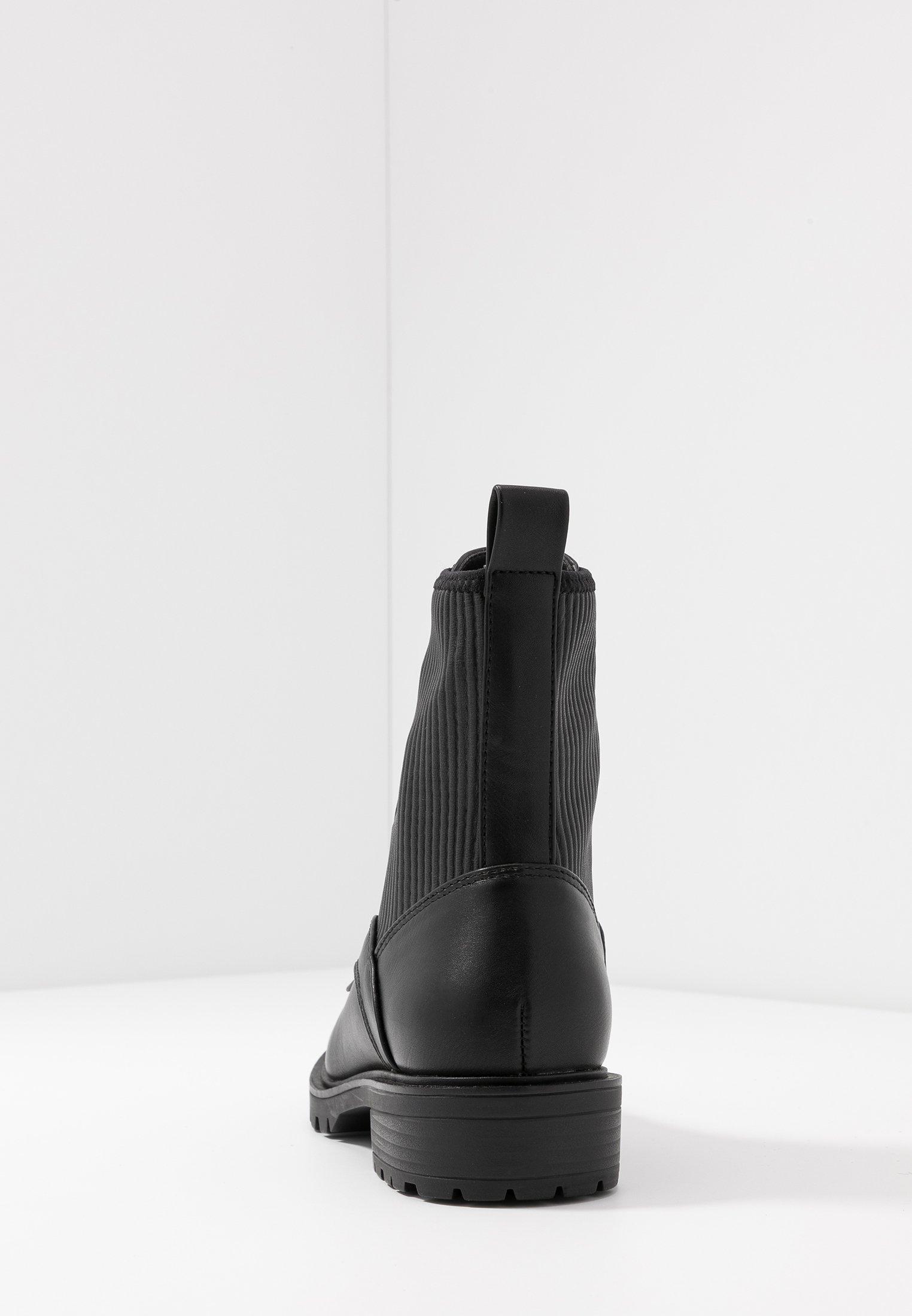 Even&Odd Bottines à lacets - black