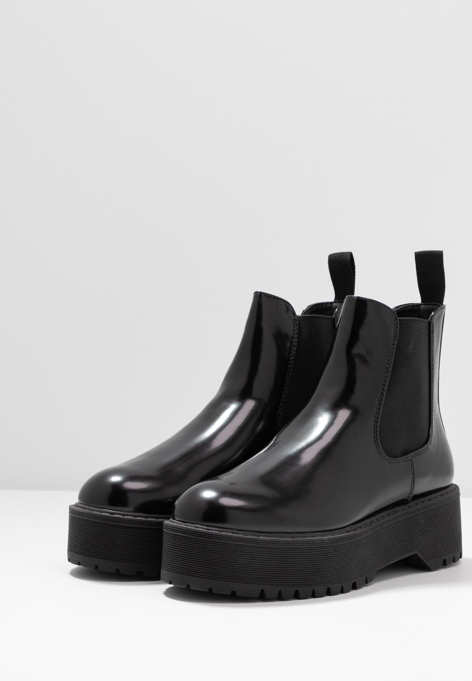 Even&Odd Boots à talons - black