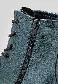 Even&Odd - Kotníkové boty na platformě - blue - 2