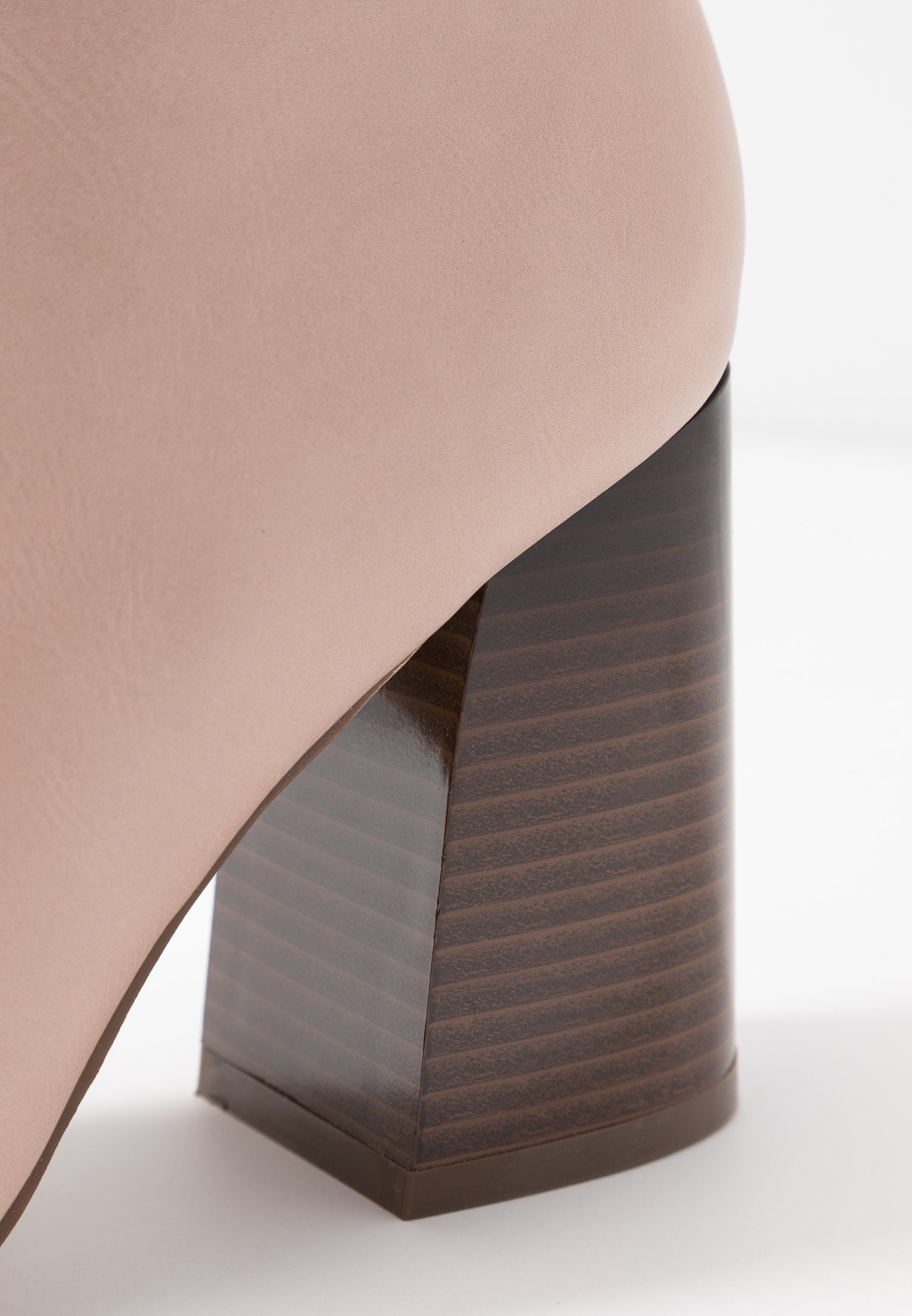 Even&Odd High heeled ankle boots - nude