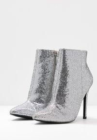 Even&Odd - Botines de tacón - silver - 4