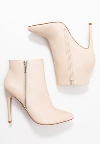 Even&Odd - High heeled ankle boots - nude - 3