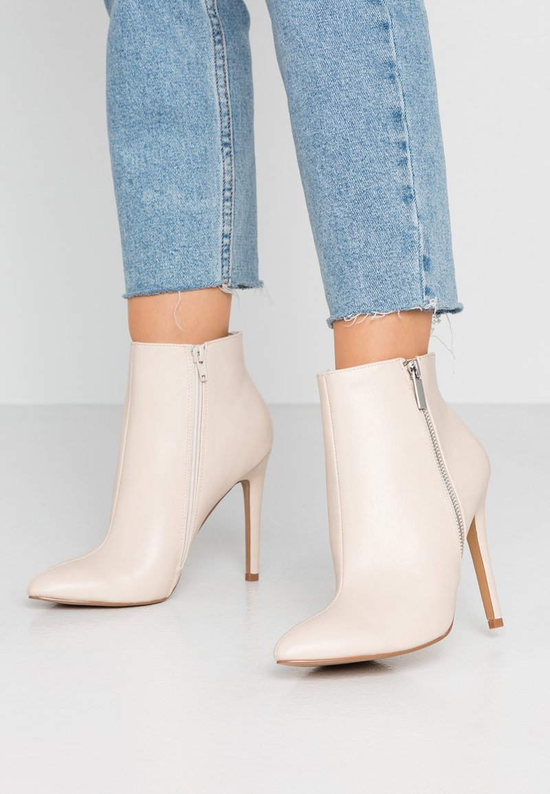 Even&Odd - High heeled ankle boots - nude