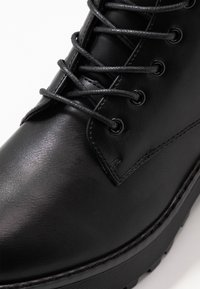 Even&Odd - Platform ankle boots - black - 2