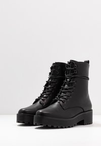 Even&Odd - Platform ankle boots - black - 4