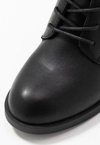 Even&Odd - Šněrovací kotníkové boty - black - 2