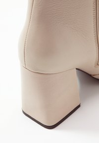 Even&Odd - LEATHER BOOTIE - Støvletter - beige - 2