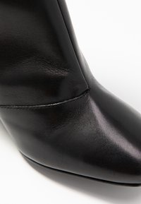 Even&Odd - LEATHER BOOTIE - Støvletter - black - 2