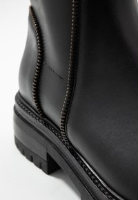 Even&Odd - LEATHER BOOTIE - Platform ankle boots - black - 2