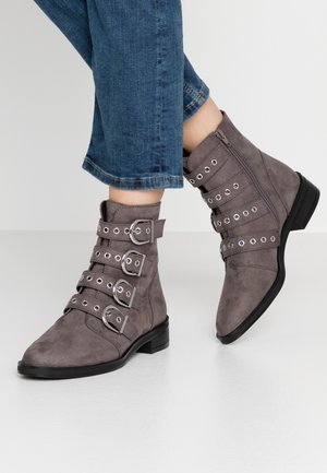 Botines camperos - dark grey