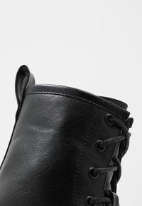 Even&Odd - Platform ankle boots - black - 2