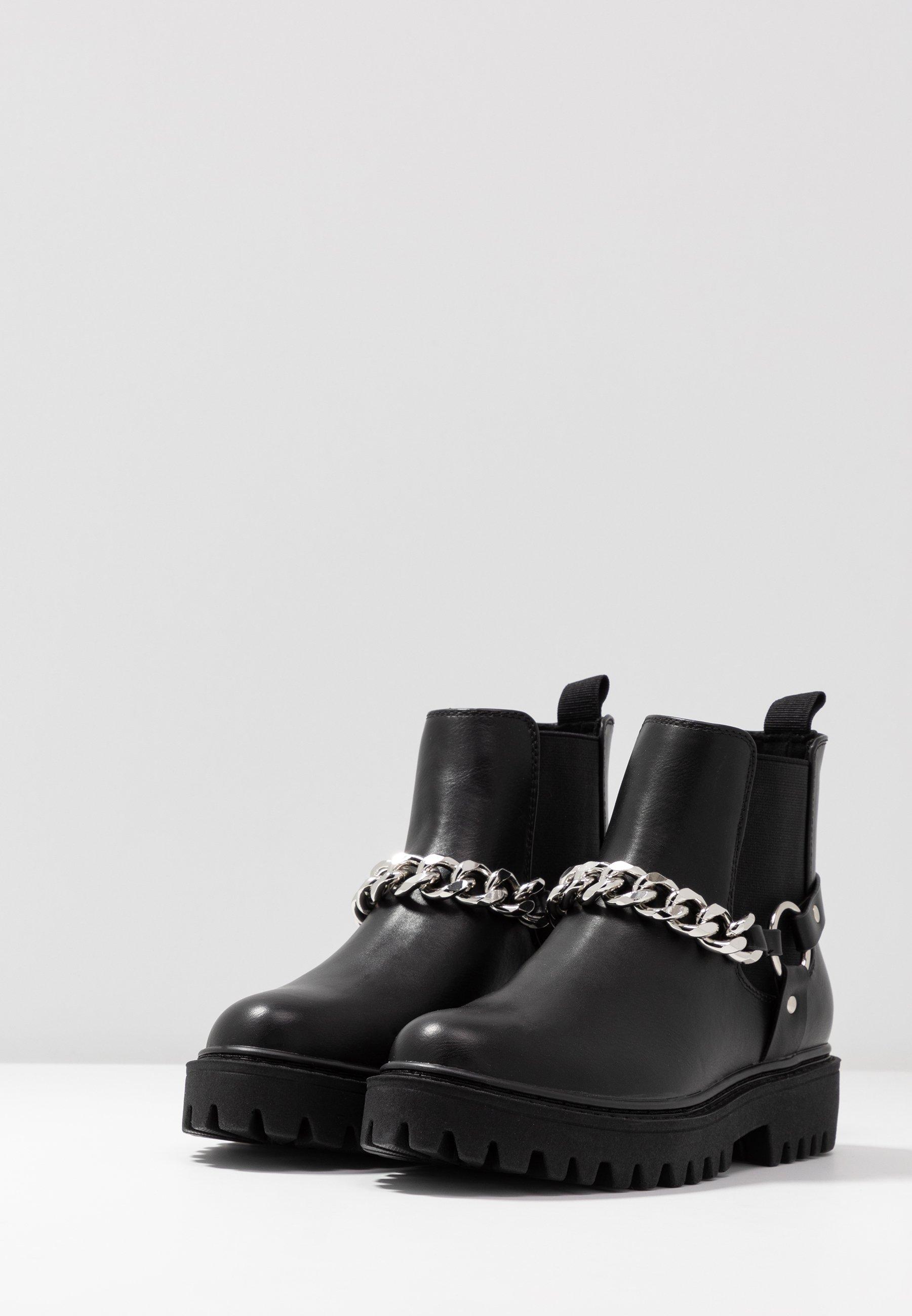 Even&Odd Boots à talons black