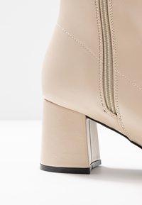 Even&Odd - Kotníkové boty - white - 2