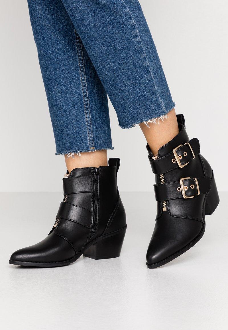 Even&Odd - Boots à talons - black