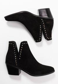 Even&Odd - LEATHER - Kotníková obuv - black - 3