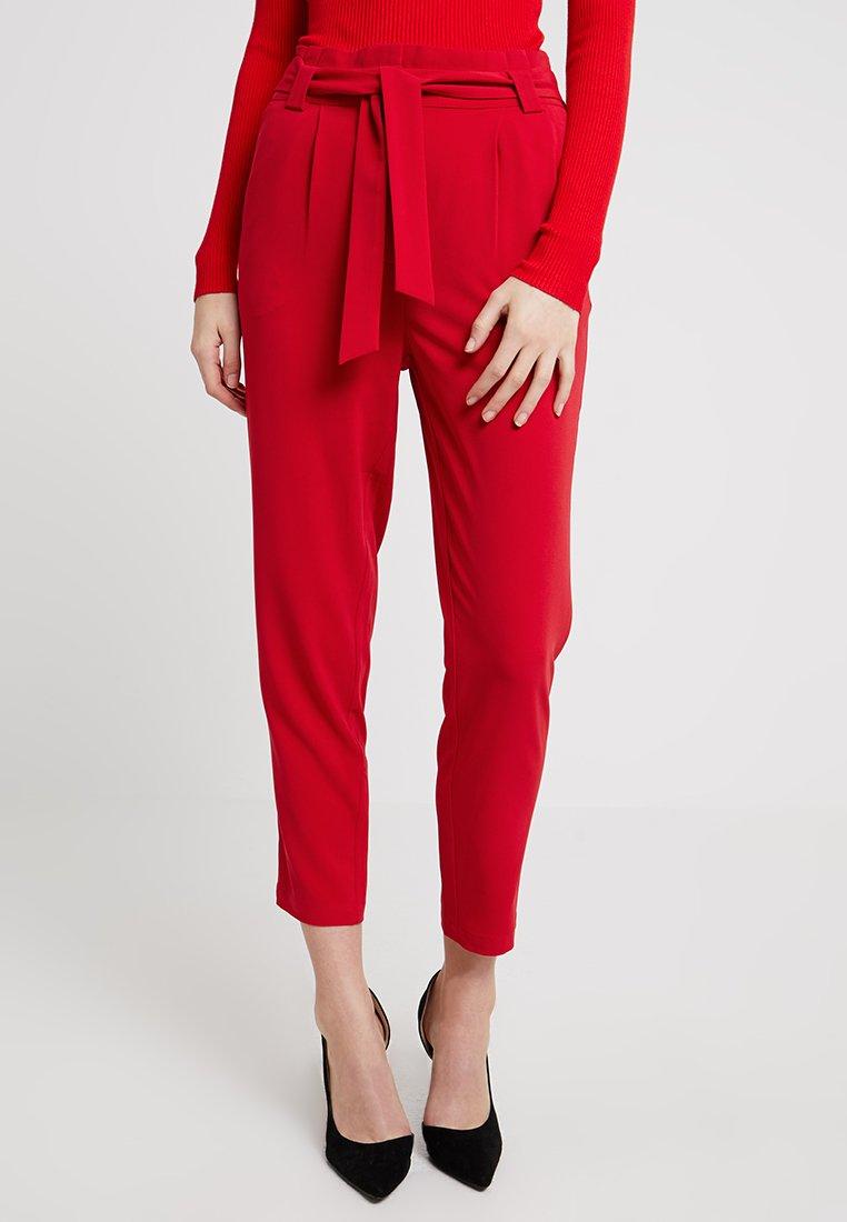 Even&Odd - Stoffhose - red