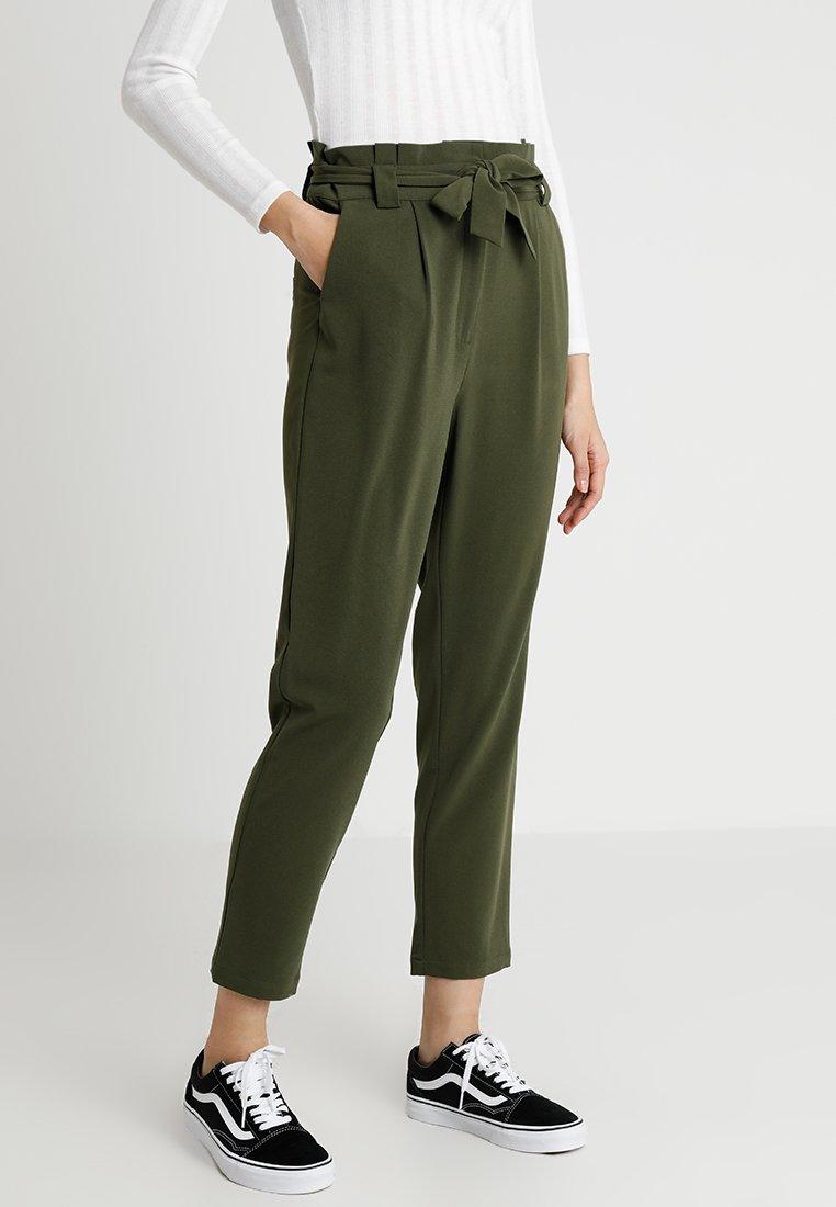 Even&Odd - Trousers - khaki