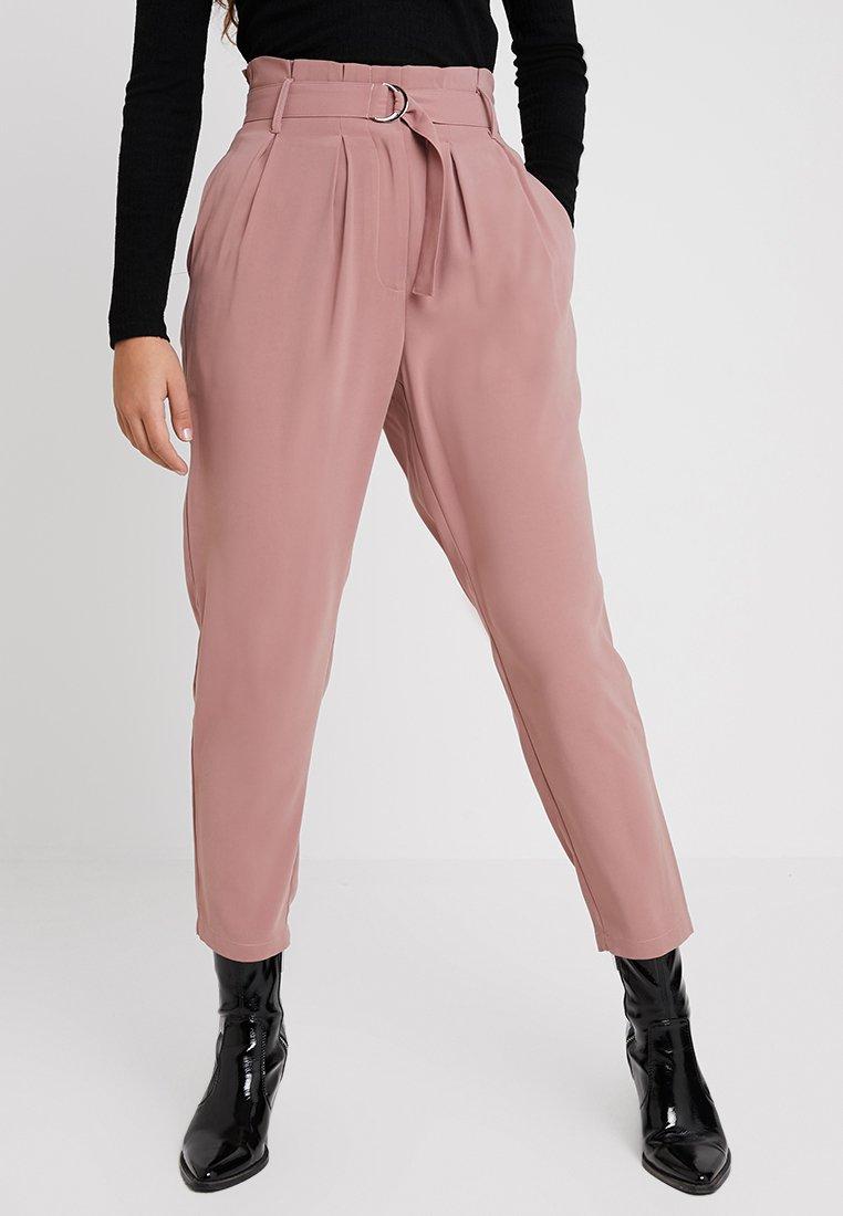 Even&Odd - Pantalones - mauve