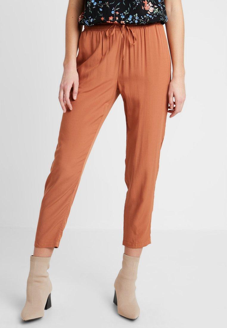 Even&Odd - Pantalones - red/brown